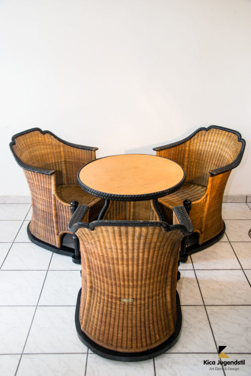 Sitting Room Suite, Attributed Otto Prutscher