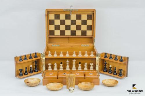 Amazing Jugendstil Game Box, circa 1905