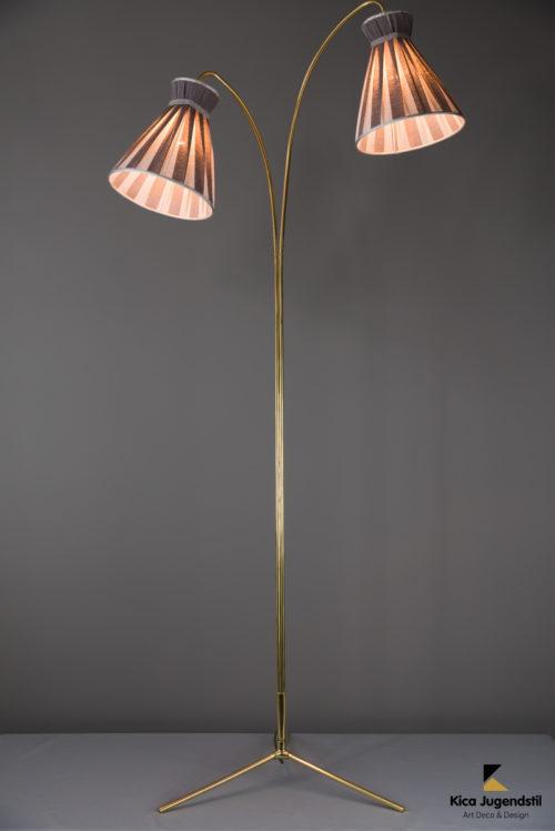 Floor Lamp by Rupert Nikoll, circa 1950s