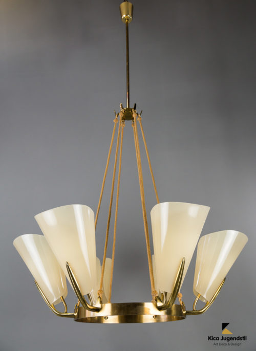 Big Rupert Nikoll chandelier circa 1960s .