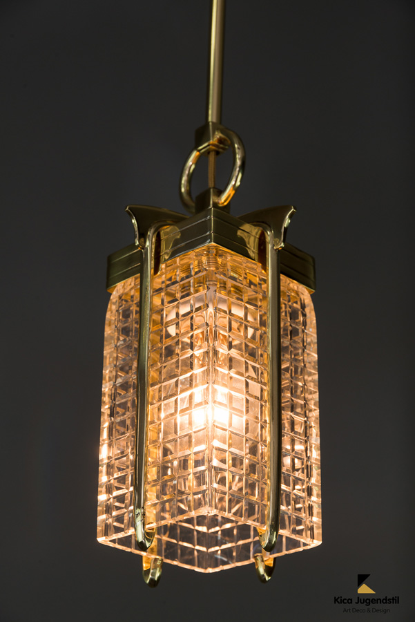 Art Deco Pendant, Vienna, 1920s