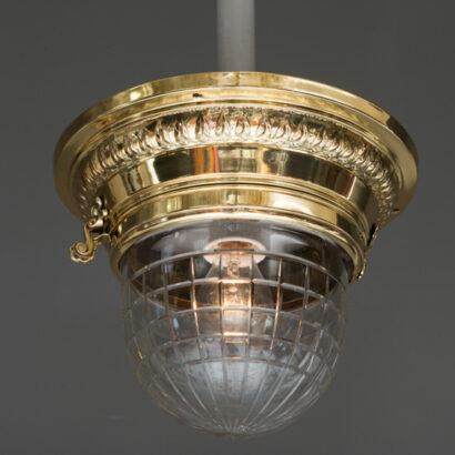Jugendstil Ceiling Lamp, circa 1908