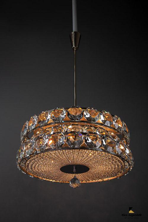 Big Bakalowits crystal chandelier around 1950s