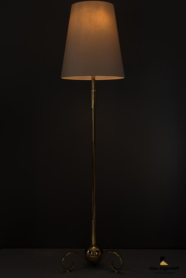 Adjustable Viennese floor lamp around 1950s