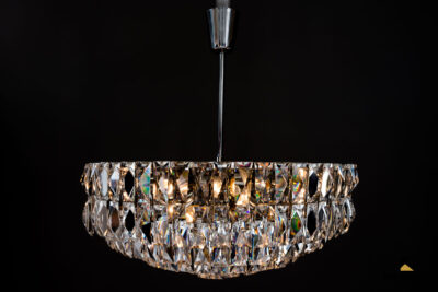 Big Bakalowits Crystal Chandelier, circa 1960s