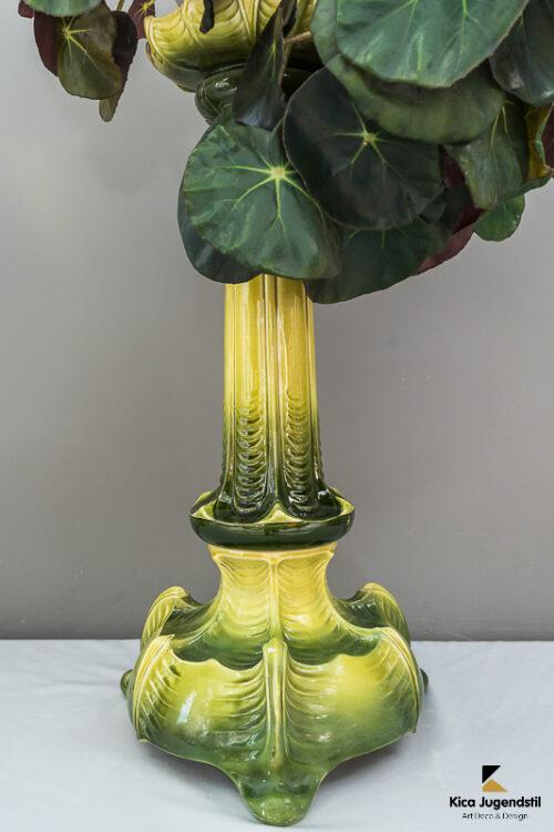 Jugendstil Flower Pot Holder Ceramic, circa 1900s