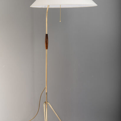 Floor Lamp by Rupert Nikoll, Vienna, 1950s