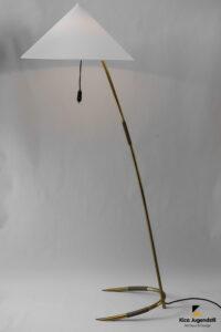 Floor Lamp by Rupert Nikoll, Vienna, 1950