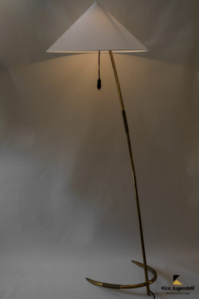 Floor Lamp by Rupert Nikoll, Vienna, 1950