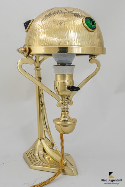 Jugendstil Table Lamp, Vienna, circa 1909