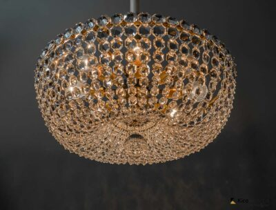 Lobmeyr crystal chandelier around 1950s