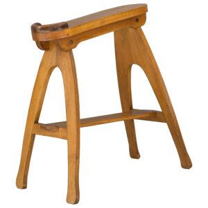 Shoe stool circa 1908