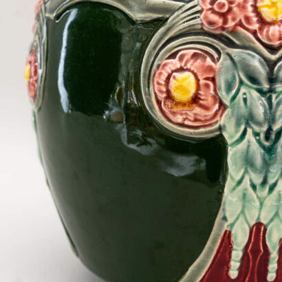 Ceramic Flower Pot Vienna Around 1908