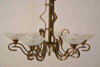 Extraordinary adjustable chandelier Vienna, circa 1920