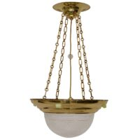 Art Nouveau ceiling lamp with four opalin glass jewels and cut-glass