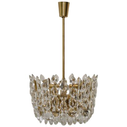 Impressive Bakalowits & Sohne Vienna crystal chandelier
