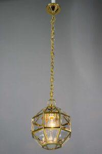 Art Deco pendant Vienna around 1920s in the style of Adolf Loos