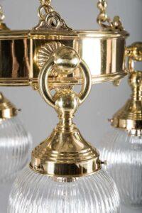 Art Deco chandelier, around 1920s