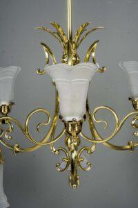 Big Historistic chandelier vienna around 1890s