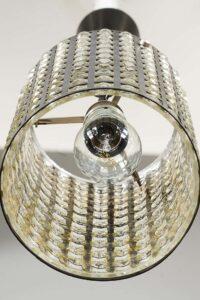 Rupert nikoll pendant, Vienna, 1960s.