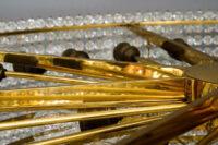 Huge Lobmeyr Crystal Chandelier, Around 1950s, '32 Bulbs, 'Signed'