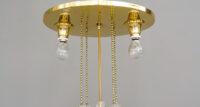 Art Deco chandelier vienna around 1920s